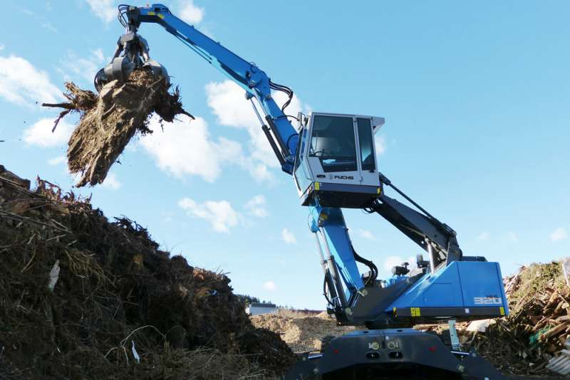 Terex announce expansion plans for Fuchs Material Handlers ...