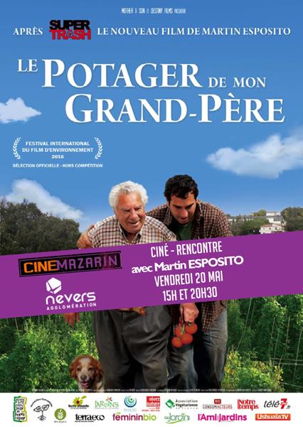 """Affiche du film documentaire """"le potager de mon grand-père"""""""