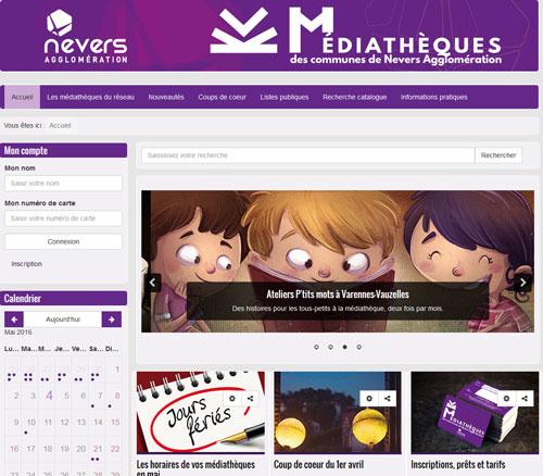 1 carte, 5 médiathèques, 1 portail web à votre service !