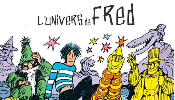 exposition du Djazz Nevers festival L'Univers de Fred