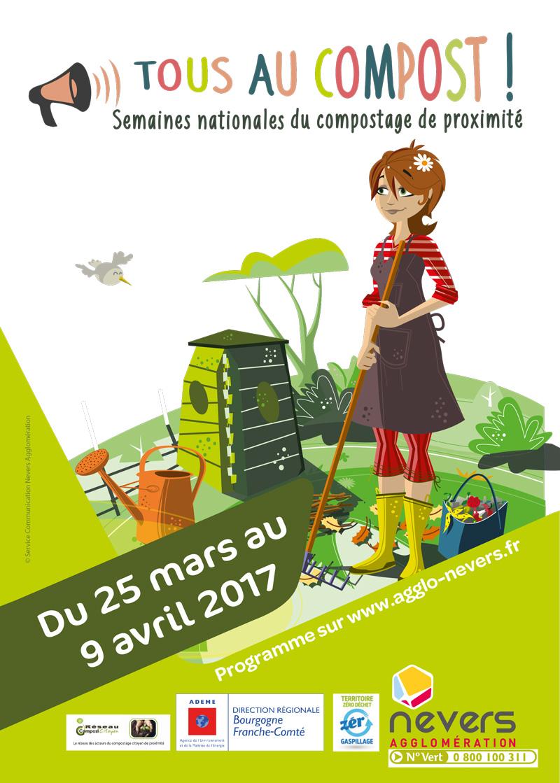 Du 25/03 au 9/04, découvrez le compostage !