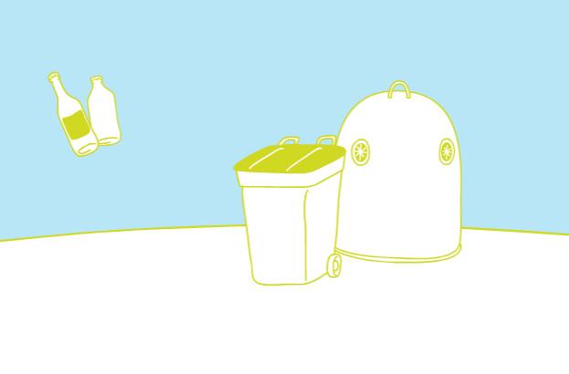 Itinéraire d'un emballage en verre