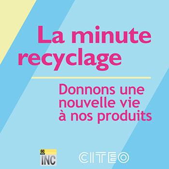«LA MINUTE RECYCLAGE #5»