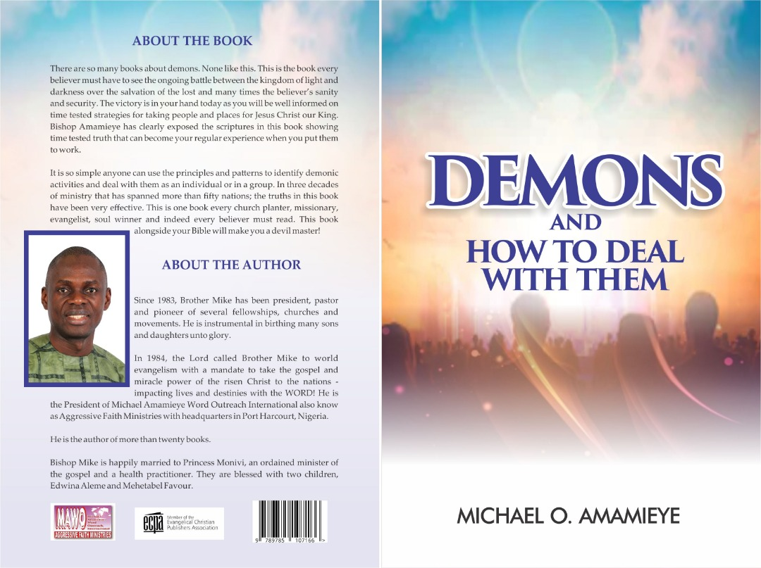 Demons and how to deal with them book cover