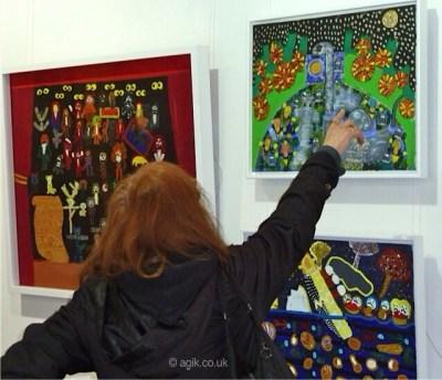 Agi K interviewing Art critic Gemma Ireland