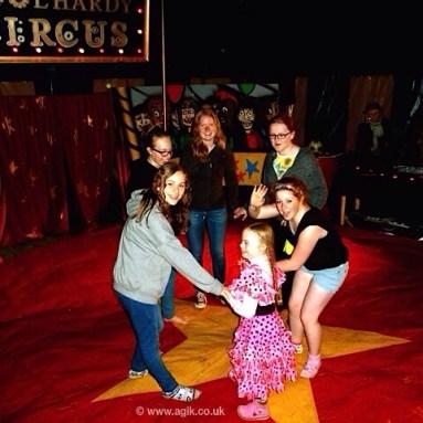 Agi K and Magdalena at home education circus camp disco