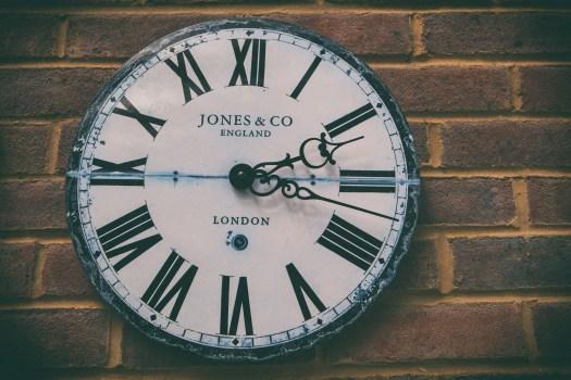 faded clock, larry apke