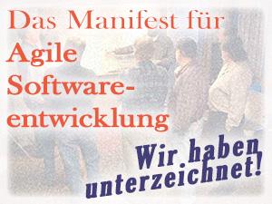 Manifest für Agile Softwareentwicklung