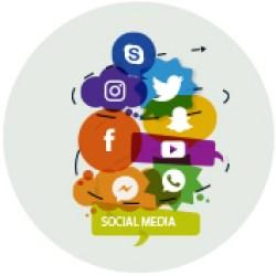 social media website visitors