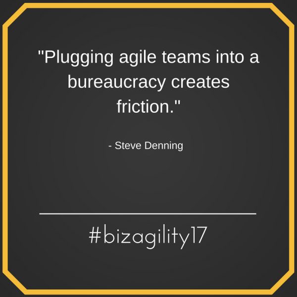 business agility conference quote
