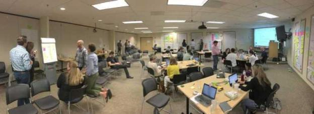 Agile Marketing Big Room Planning CA