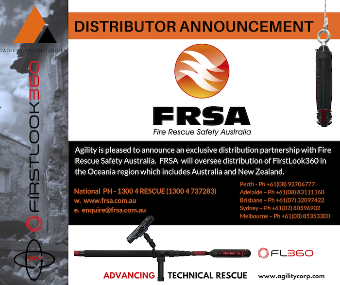 NEW Distribution Partner – Fire Rescue Safety Australia