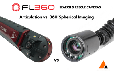 Search & Rescue Cameras – Articulation vs. 360° Spherical Imaging