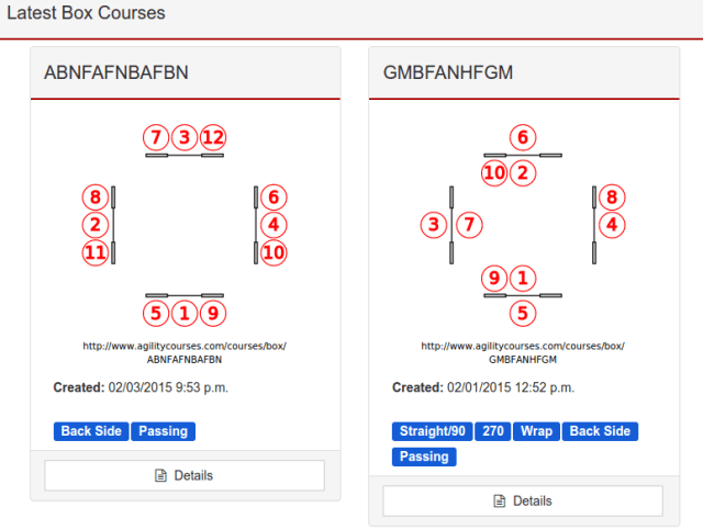 Latest courses view showin skills tags