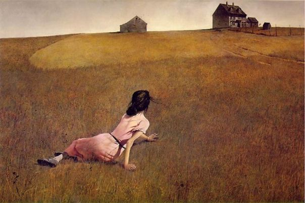 Christina's World by Andrew Wyeth 1948 The Museum of Modern Art, NYC