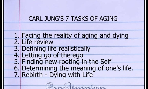 Jung's 7 Tasks of Aging – Task One