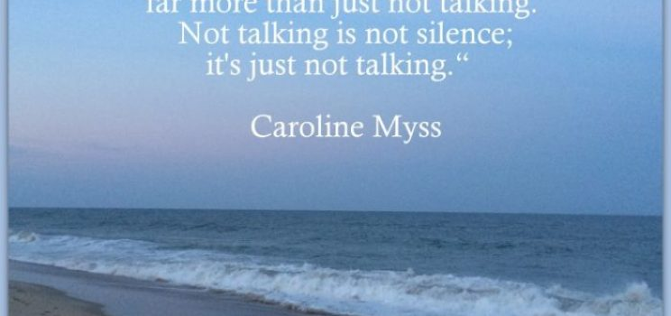 Not Talking Is Not Silence