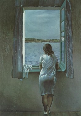 Figure at the Window by Salvador Dalí