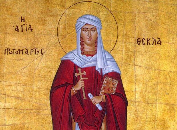 Κυριακή Α΄ Λουκά- Παναγίας Μυρτιδιωτίσσης, Αγίας Θέκλης, Αγίου Σιλουανού