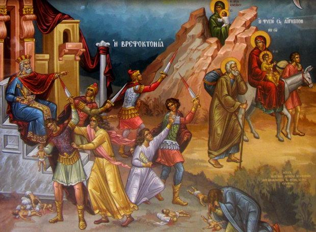Η Γέννηση του Χριστού, το Μέγα Μυστήριον~Φώτης Κόντογλου