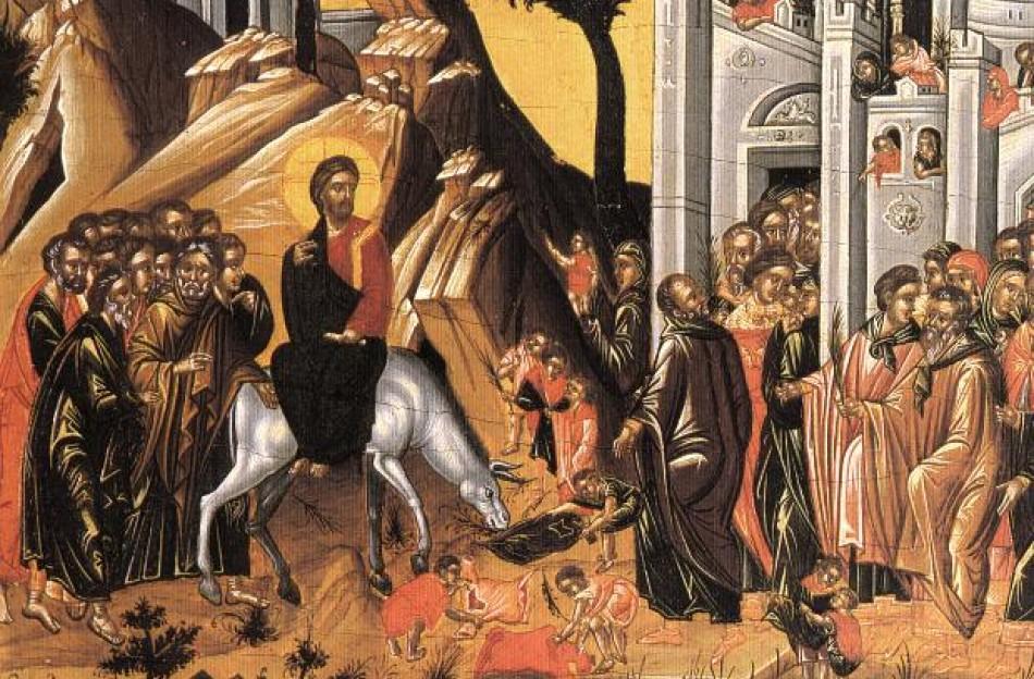 Ἁγίου Λουκᾶ Κριμαίας: Εἰς τήν Κυριακήν τῶν Βαΐων