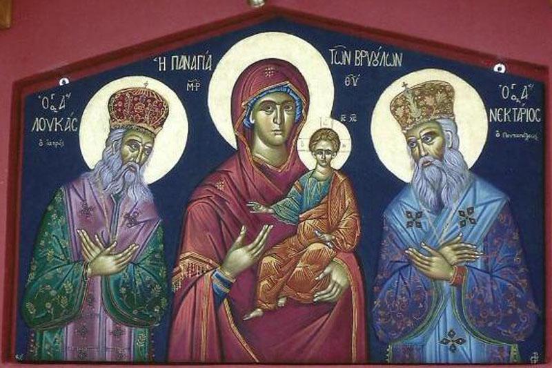 ΛΟΓΟΣ ΕΙΣ ΤΗΝ ΚΟΙΜΗΣΙΝ ΤΗΣ ΘΕΟΤΟΚΟΥ ~ Αγίου Λουκά Αρχιεπισκόπου Κριμαίας
