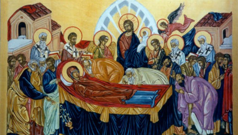 Άγιος Θεόδωρος ο Στουδίτης: Εγκώμιον εις την κοίμησιν της αγίας Δεσποίνης ημών Θεοτόκου
