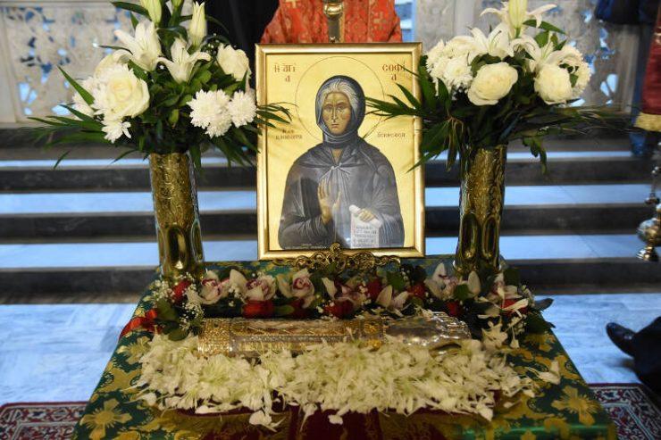 Οσία Σοφία η εν Κλεισούρα ασκήσασα ~ Σύντομος βίος και Παρακλητικός Κανόνας (Εορτάζει στις 6 Μαΐου εκάστου έτους)