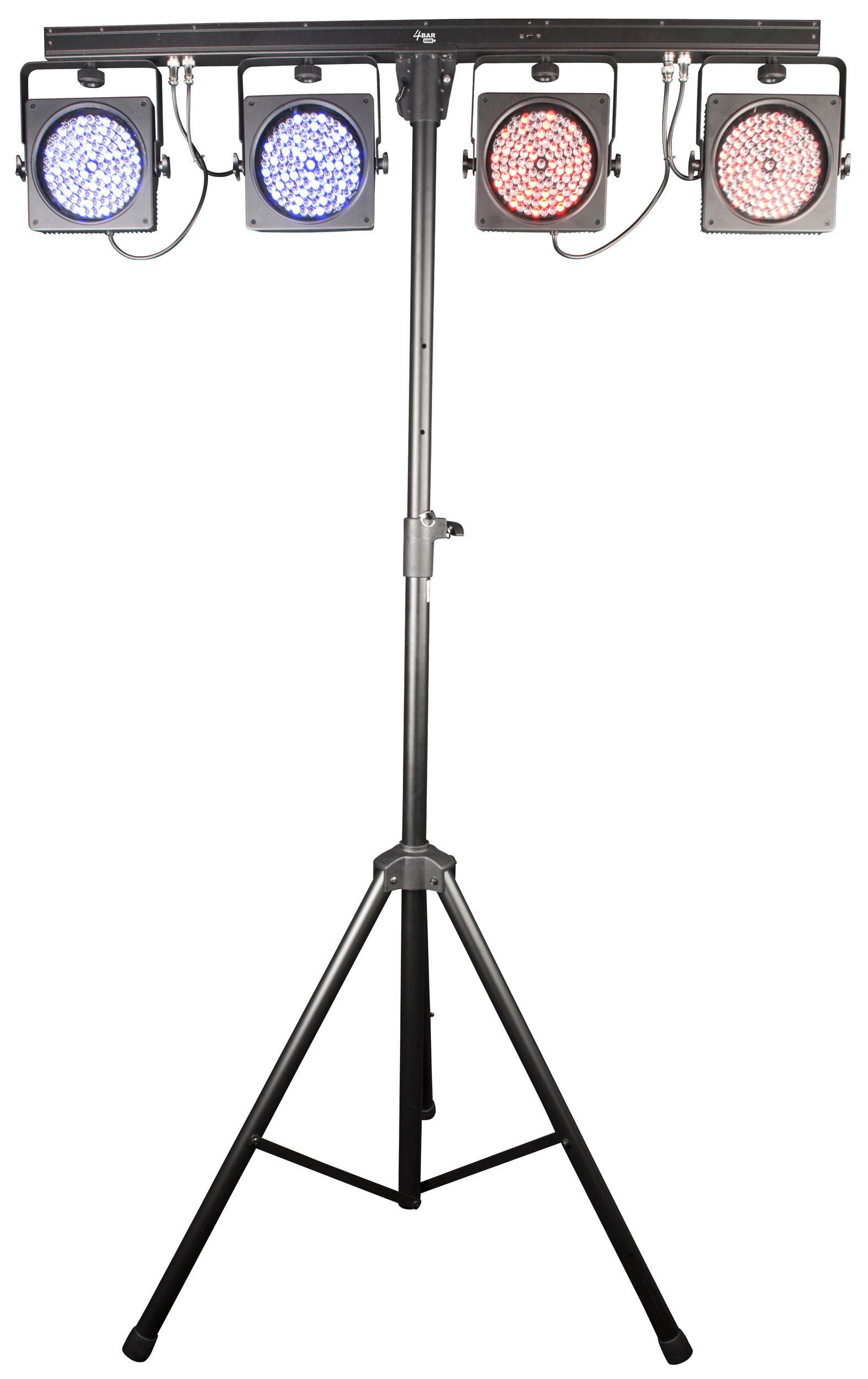 Chauvet Dj 4bar Usb Complete Wash Light System