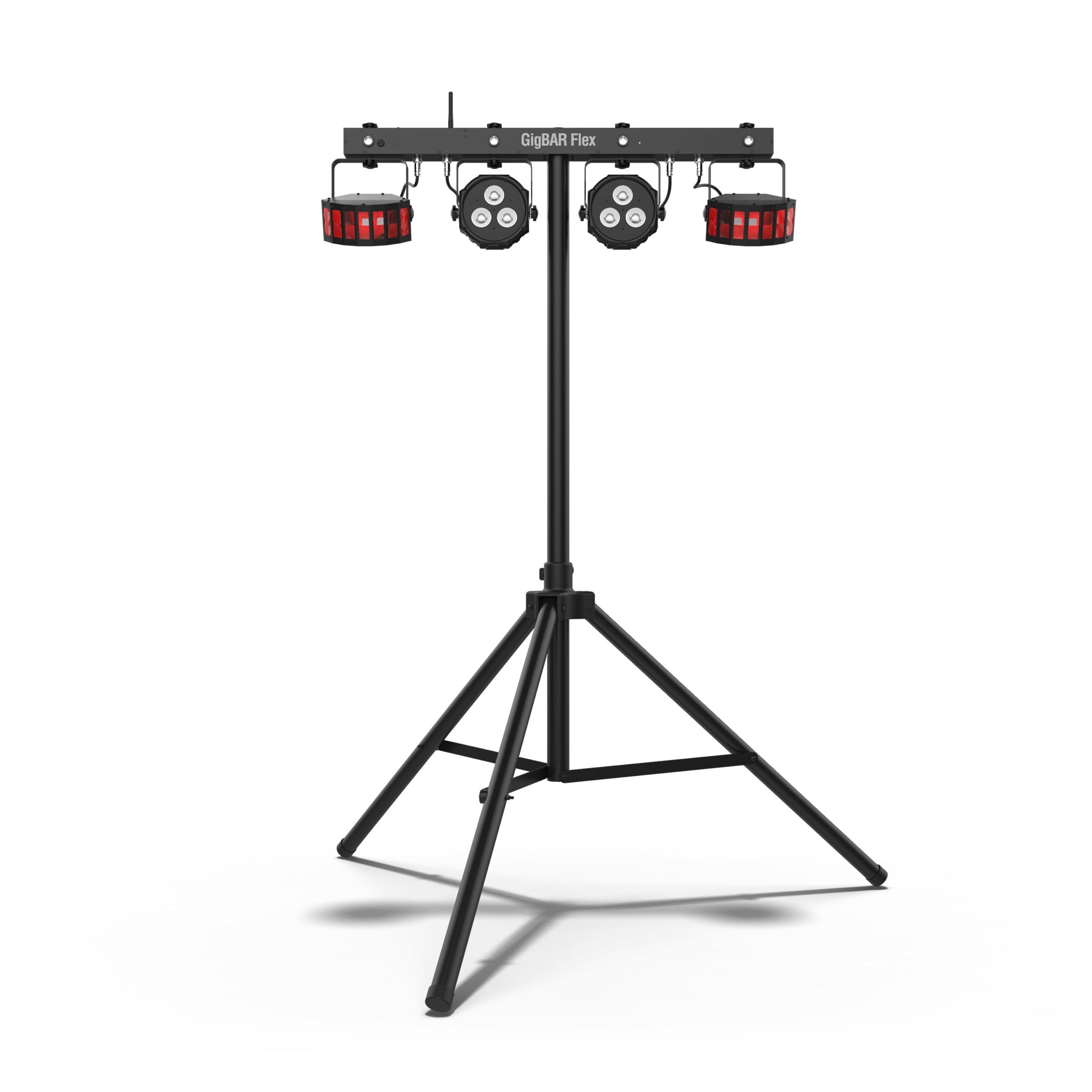 Chauvet Dj Gigbar Flex 3 In 1 Pack And Go Effects Light
