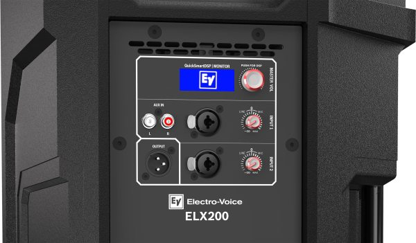 "ELECTRO-VOICE ELX200-12P 1200 Watt 12"" 2-Way Powered ..."