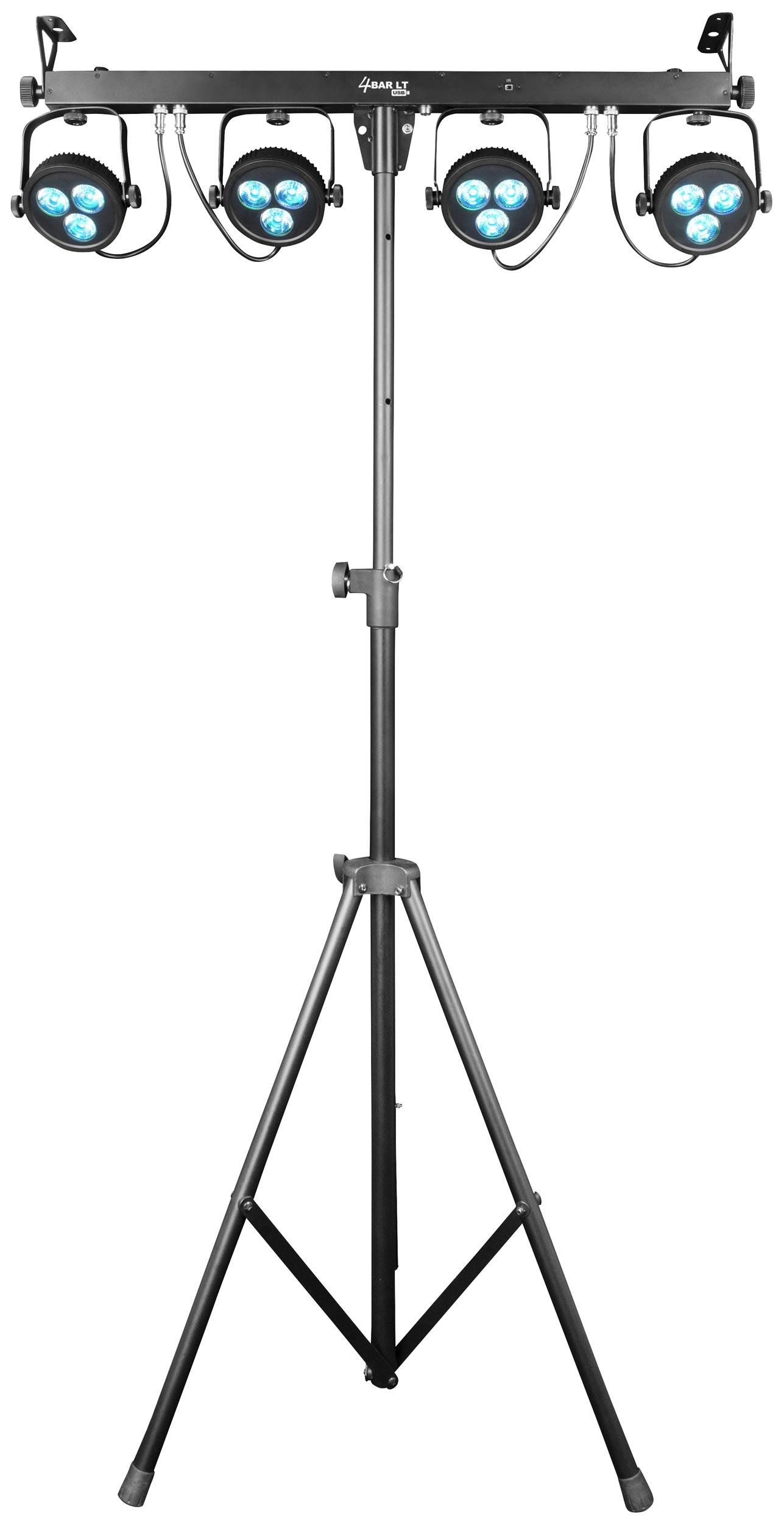 Chauvet Dj 4bar Lt Usb Complete Wash Light System Agiprodj