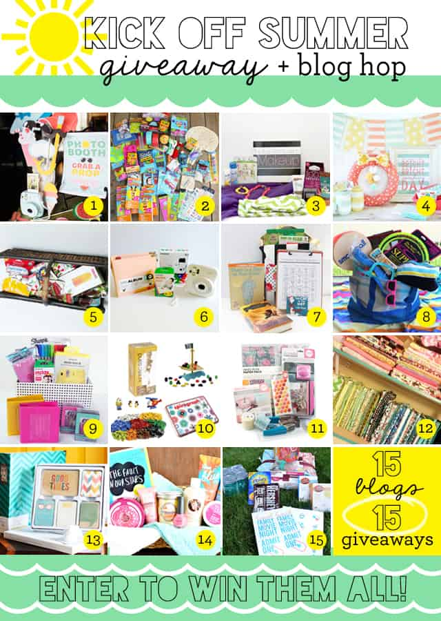 Summer Kick Off Giveaway collage final