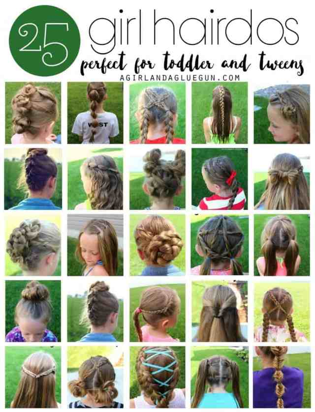 25 girl hair styles for toddlers and tweens - a girl and a