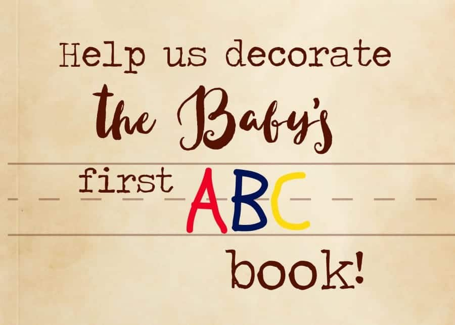 Make Baby Shower Guest Book