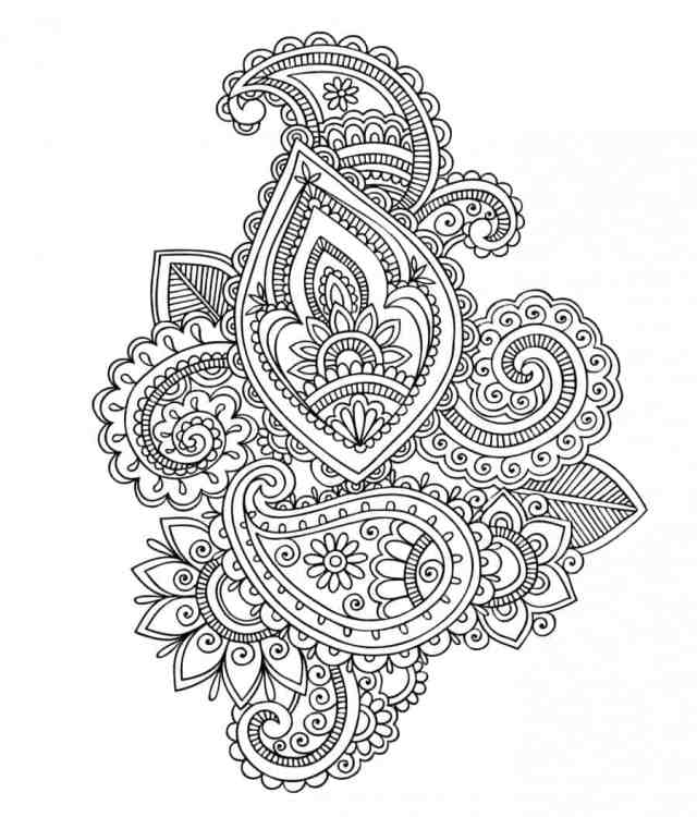 Free Coloring pages printables - A girl and a glue gun