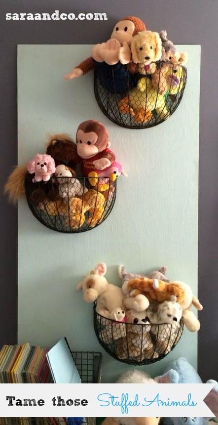 Stuffed Animal Storage And Organization Ideas A Girl And