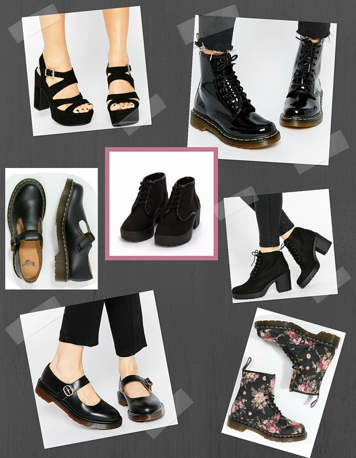 Spring Shoes For Grunge Girls