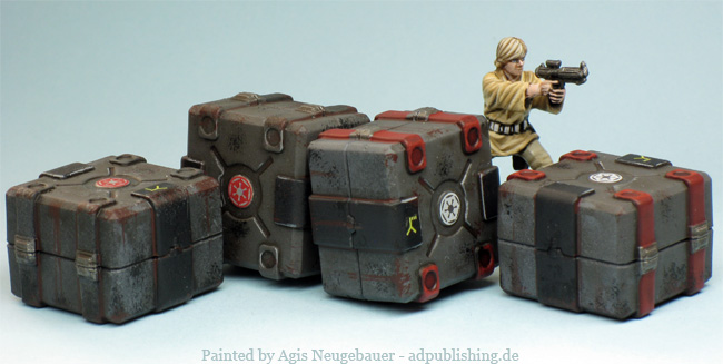 Not my work. Clicky the pic to go to Agis' site for lots more Imperial Assault goodness.