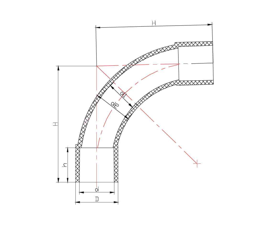 Conduit Standard Bend 90deg Hd