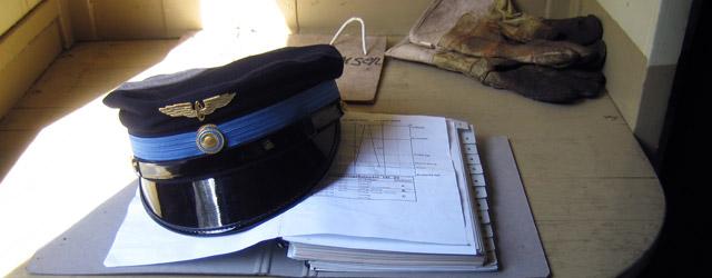 Utrustning för tågbefälhavare. Foto: Alexander Lagerberg