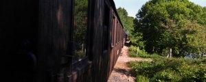 Längs tåget sida. Foto: René Pabst
