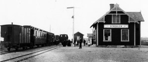 Gendalens station. Foto: Stig Nybergs samlingar / Sveriges Järnvägsmuseum