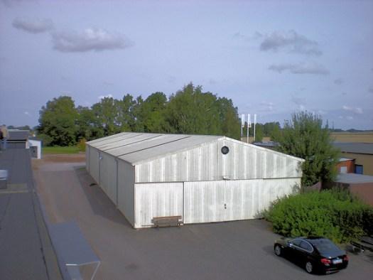 Hallen i Kvänum. Foto: Björn Thyrelius