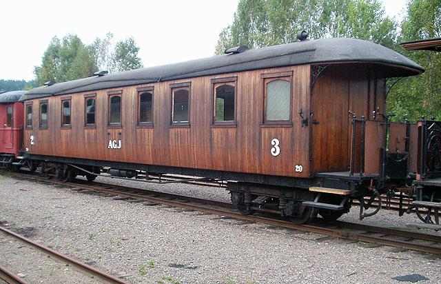 AGJ vagn 20 i Anten. Foto: Patrik Engberg