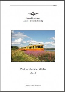 Verksamhetsberättelse 2012