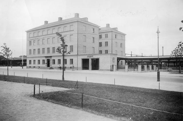 VGJ stationshus i Göteborg. Foto: Grete Söderling Wallin