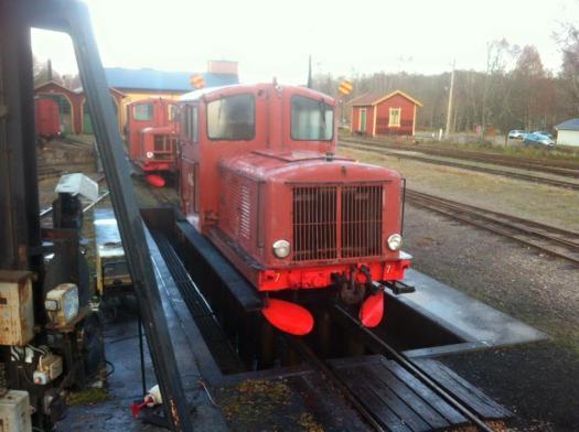AGJ Z4p 409 är tvättad. Foto: Magnus Johansson