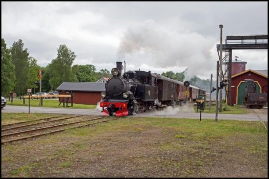BLJ 6 med avgående tåg från Anten. Foto: Stefan Lindberg