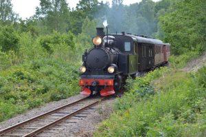 BLJ6 på linjen. Foto: Yngve Emanuelsson